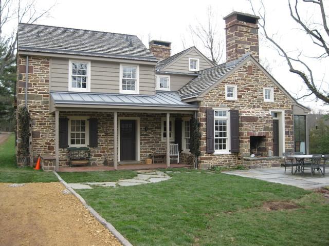 Stone Additions Traditional Exterior Philadelphia