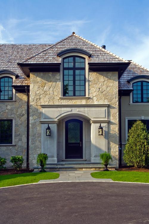 Front Door Stone Surround