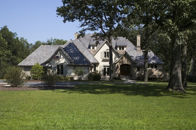 Libertyville Residence traditional-exterior