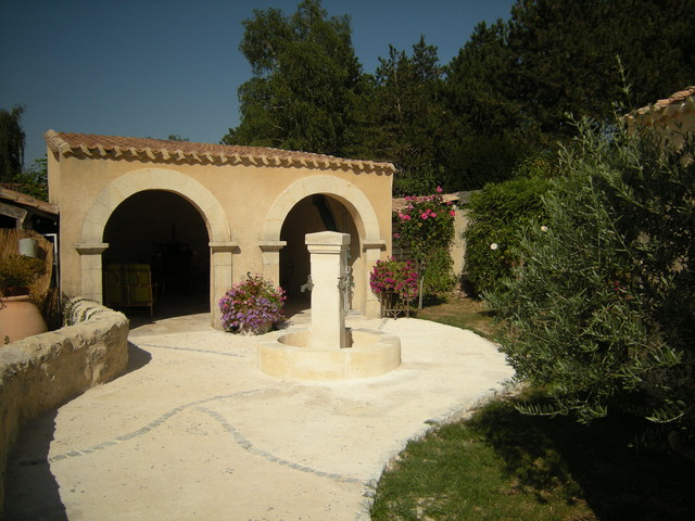 Stone Archways Out Of Reclaimed Limestone Mediterranean