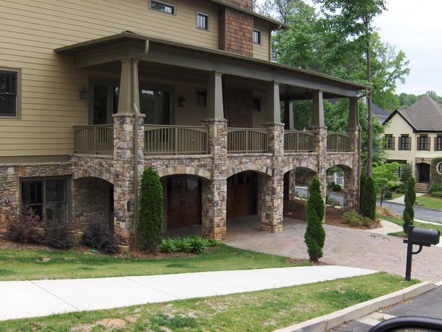 Stone, Brick and Concrete exterior