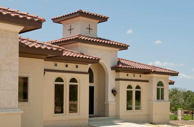 Stone creek mediterranean exterior other metro by Mediterranean custom homes