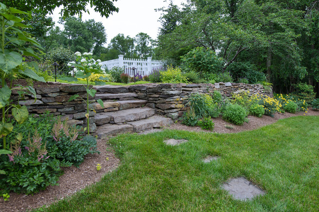 Stone Creek Farm - Traditional - Exterior - New York - By Britney Ou0026#39;Donnell Garden Design