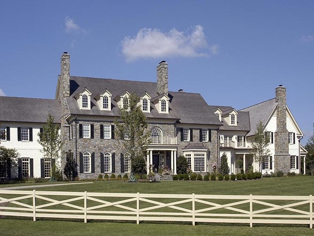 Stone Estate traditional-exterior