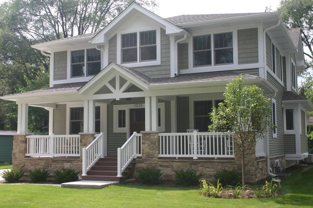 Exterior Siding Design Ideas 1000 images about cottage exterior colours on pinterest vinyl siding white trim and siding colors Inspiration For A Traditional Exterior In Chicago