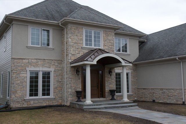 Stone Exterior Siding Cobble Stone Traditional
