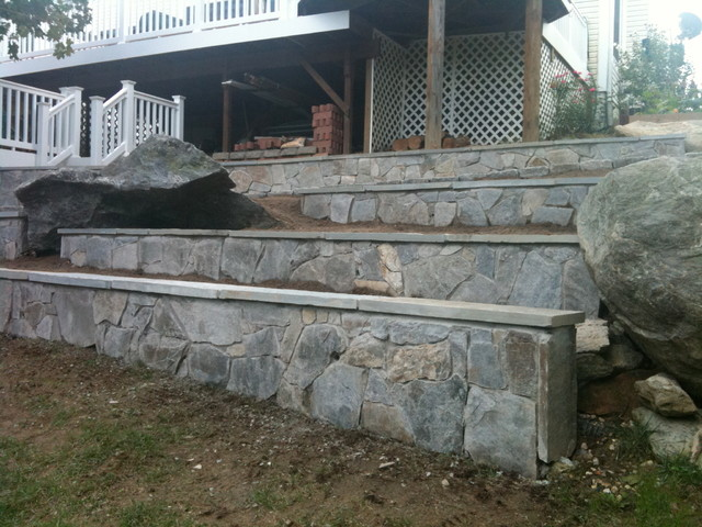 Stone Retaining Walls In Columbia Md