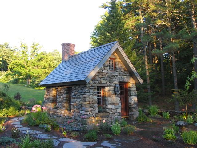 Stone Thoreau Cabin