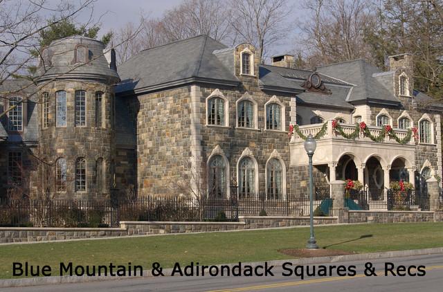 Stone Veneer - Traditional - Exterior - New York - by Seaside ...