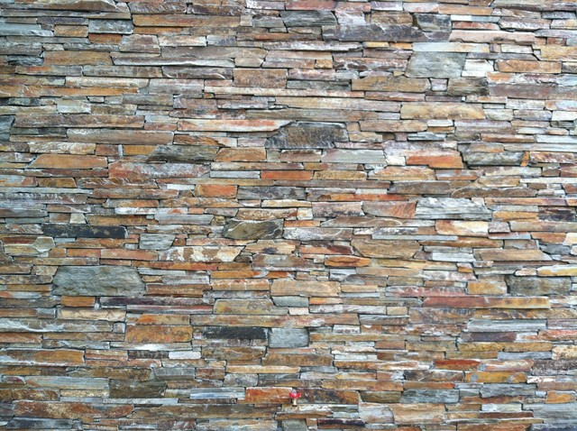 Stone Walls All Types Utilizing Natural Stone Thin Veneer Traditional Ex
