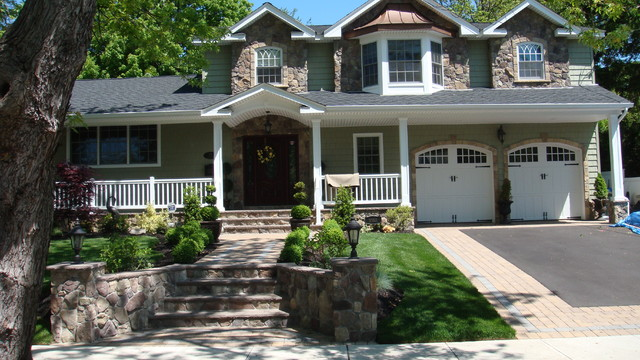 Stone work traditional-exterior