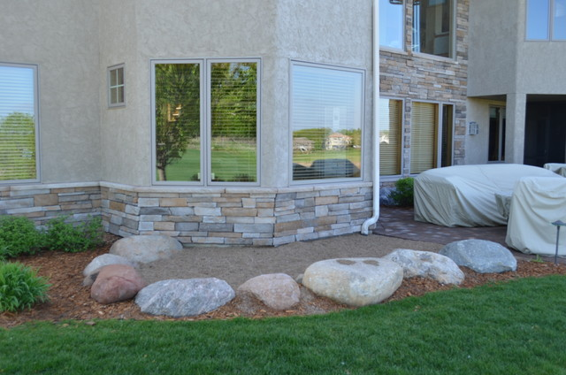Stone Work Traditional Exterior Minneapolis By