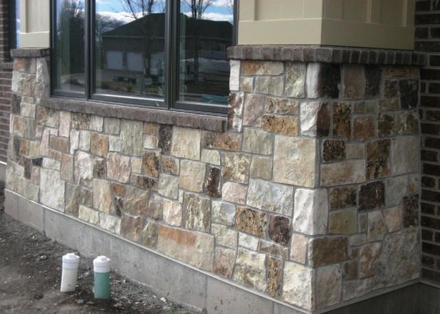 Stone work exterior for Exterior stone work