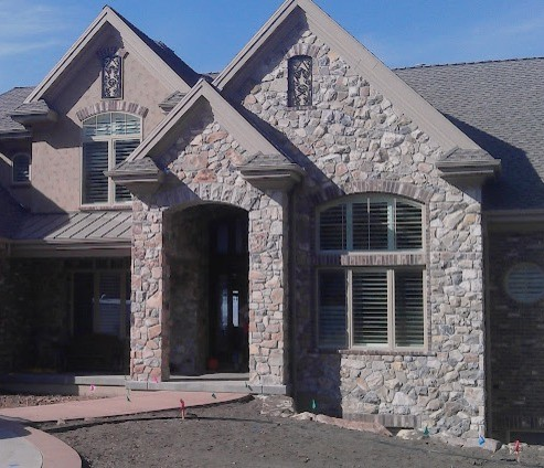Stone Work Exterior Traditional Exterior Salt Lake