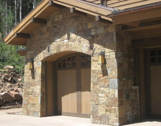 Stone Work Exterior Eclectic Exterior Salt Lake City