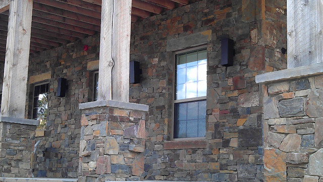 Stone Work Exterior Eclectic Exterior Salt Lake City