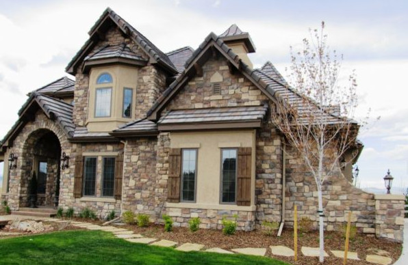 Stone Work Traditional Exterior