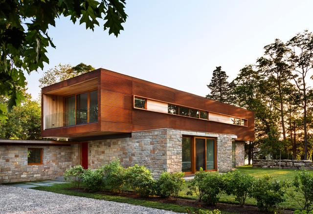Stonington house contemporary exterior other metro - Stonington residence by joeb moore partners ...