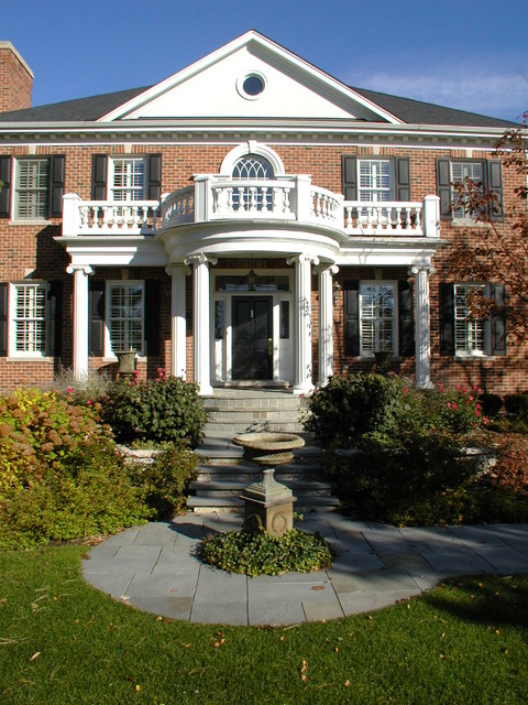 Stoops, Steps, and Walkways traditional-exterior