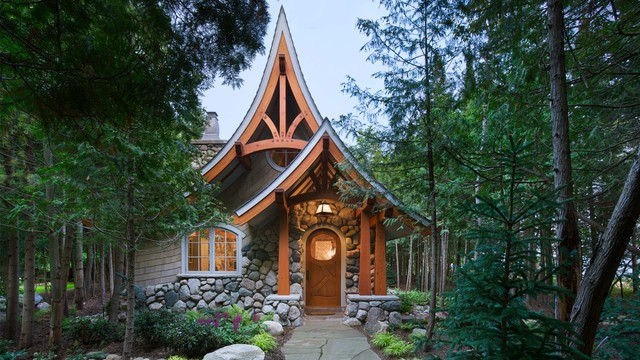 Storybook Cottage Craftsman Exterior Seattle By