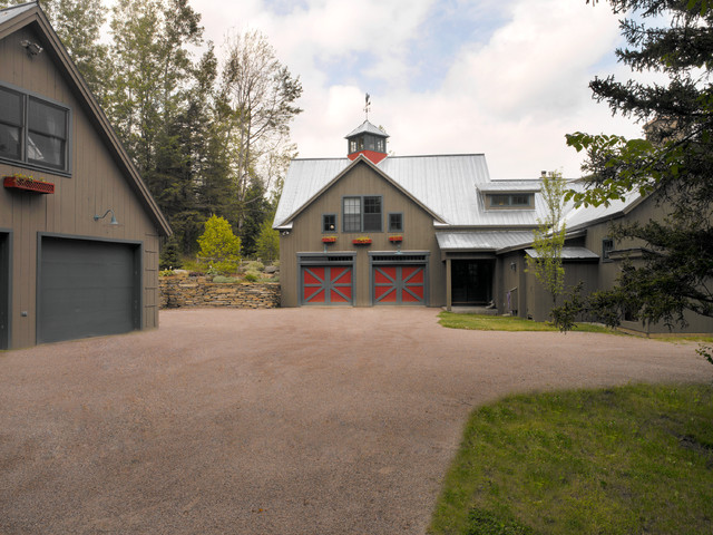 Stowe Vermont Barn House Farmhouse Garage And Shed burlington by Pat