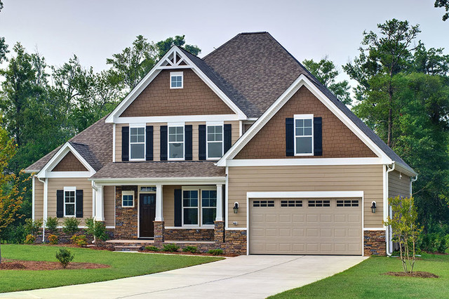 Stratton floor plan by savvy homes craftsman exterior Savvy home and garden