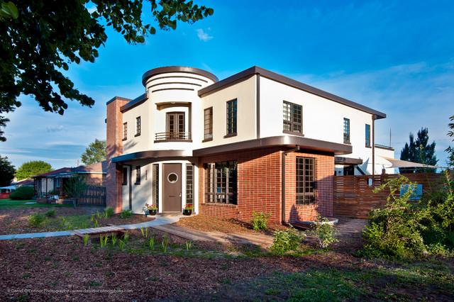 Streamline Modern Retro House / Highlands, Denver CO modern-exterior