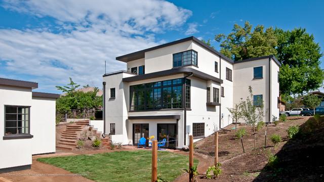 Streamline Modern Retro House Highlands Denver Co