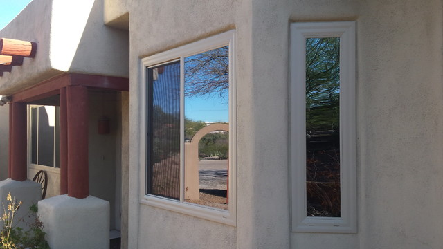 Stucco Homes - Exterior - other metro - by AK & Sons Windows & Doors