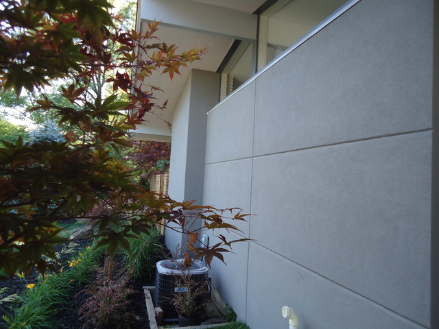 Stucco Over Brick St Catharines Niagara Midcentury Exterior Toronto By Colleen Donovan Certified Home Staging