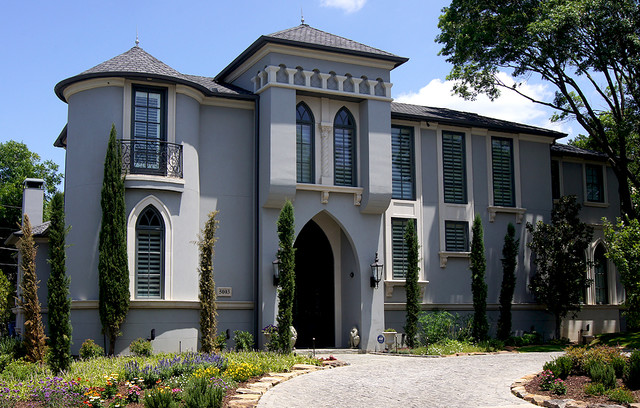 Stucco Projects traditional-exterior