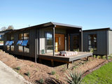 contemporary exterior Two Homes Focus on Community (12 photos)