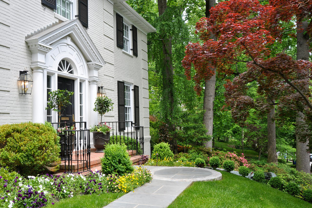 Inspiration for a timeless exterior home remodel in DC Metro