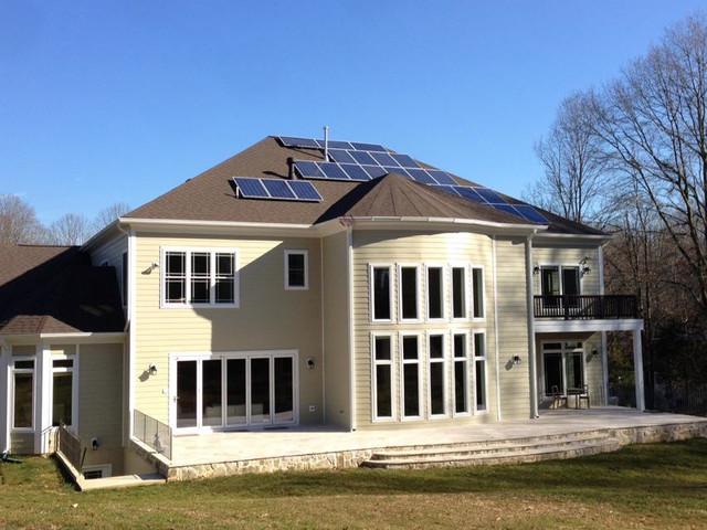 Suburban luxury classico facciata dc metro di for Classic homes realty llc