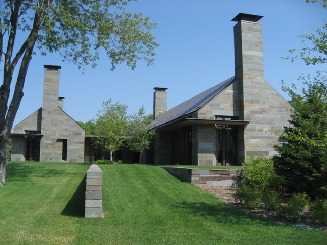 Unique Chimneys Outside And Inside