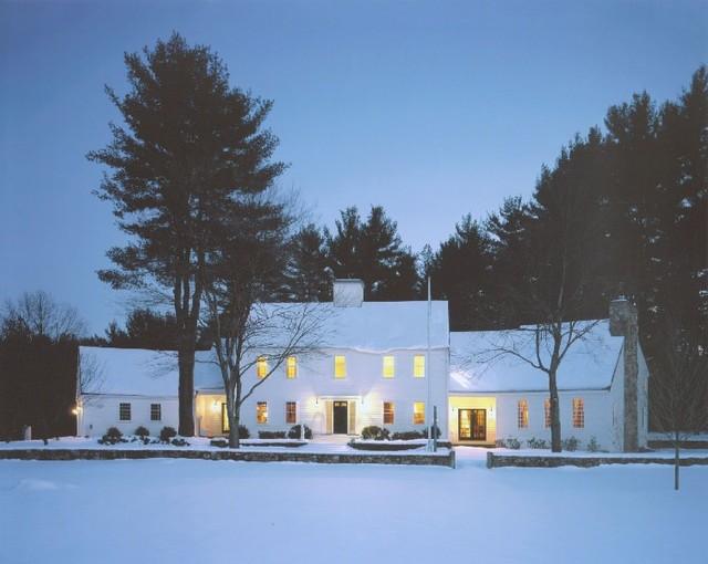 Sudbury House traditional-exterior