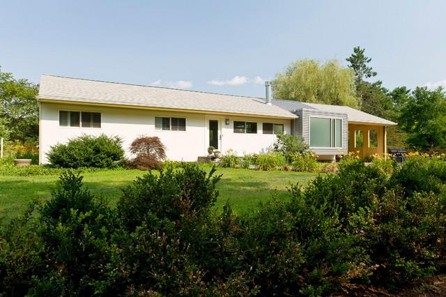 Sudbury Modern Ranch House Addition Sudbury Ma Modern
