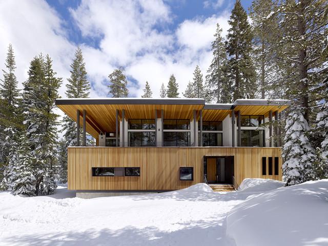 Sugar Bowl Residence contemporary-exterior