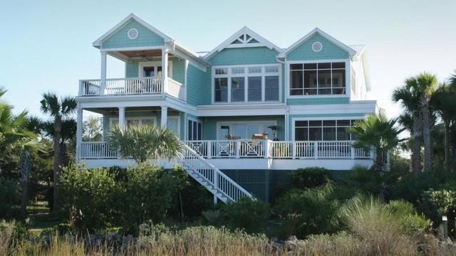 Sullivans Island Custom Home Builder traditional-exterior