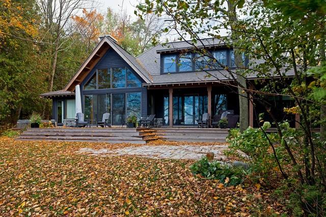 Summer Home rustic-exterior