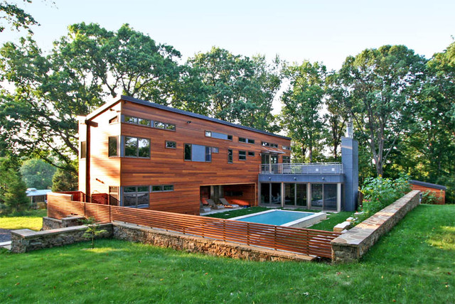Summer Retreat contemporary exterior