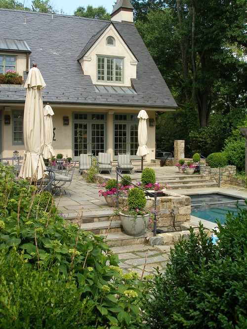 French country cottage landscaping design ideas sciox Choice Image