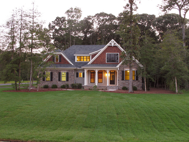 Summerlake Traditional Exterior Wilmington By The