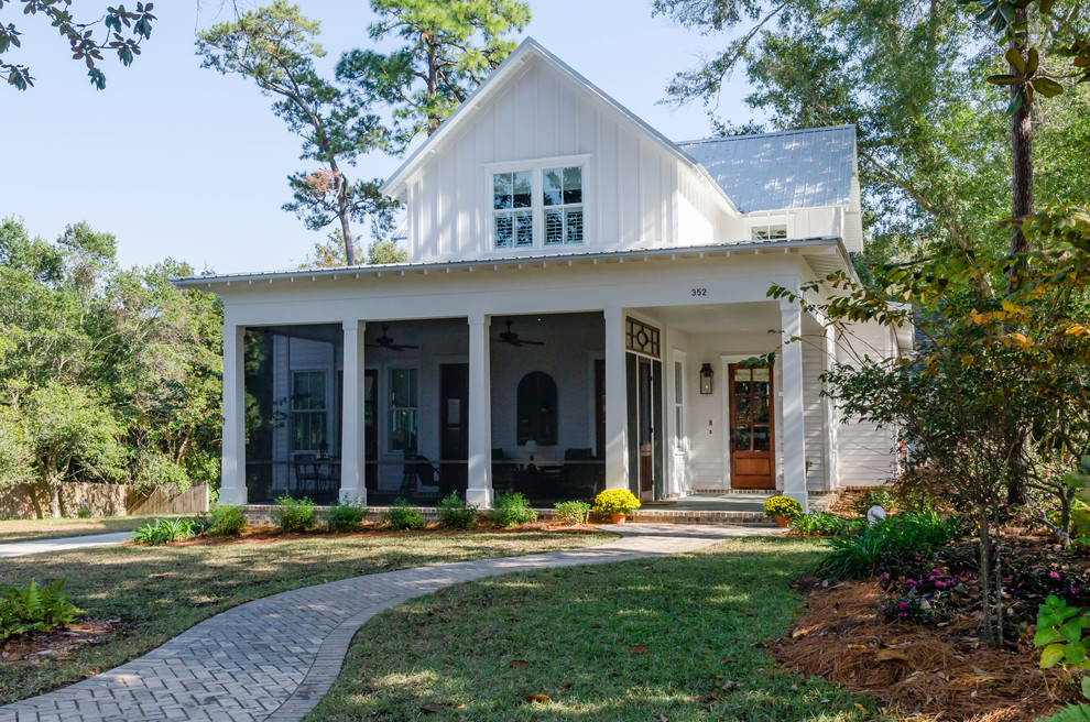 Cottage exterior home idea in Other