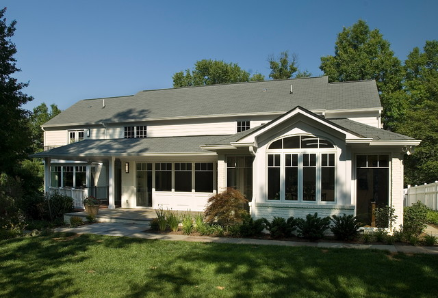 Sumner Whole Home Renovation traditional-exterior