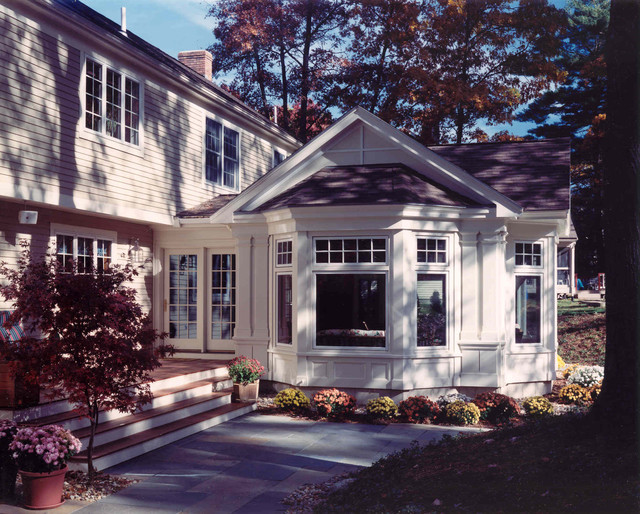 Sun Room Addition Reading Ma Traditional Exterior