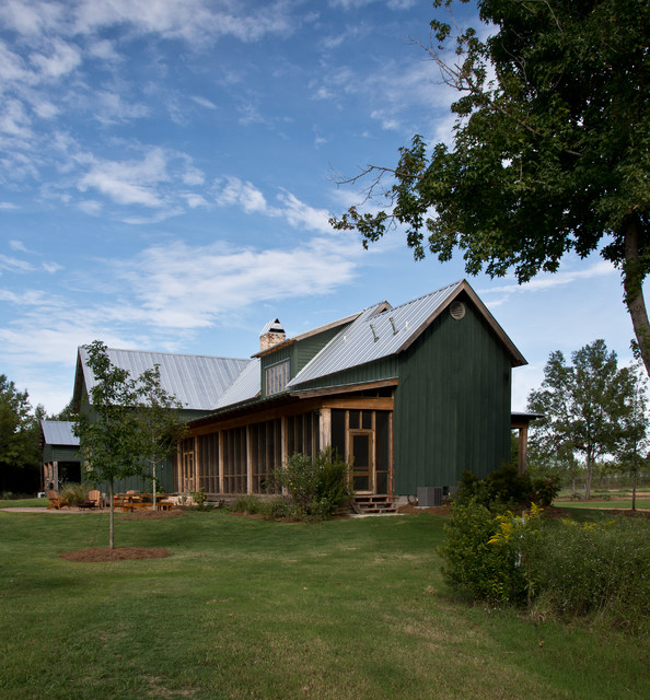 Sunflower Farm Cabin - Farmhouse - Exterior - jackson - by ...