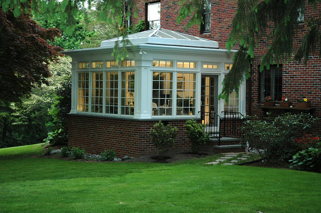 Sunny Conservatory traditional-exterior