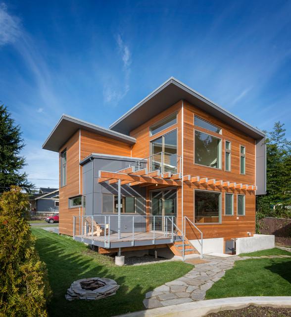 Sunset Hill- Micro-Modern contemporary-exterior