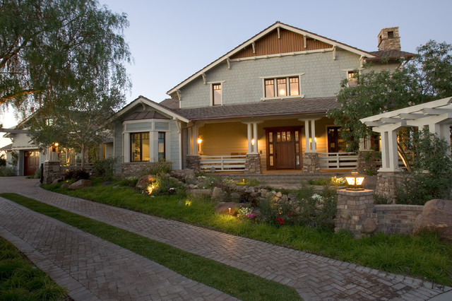 Sunset House Covenant Hills craftsman-exterior